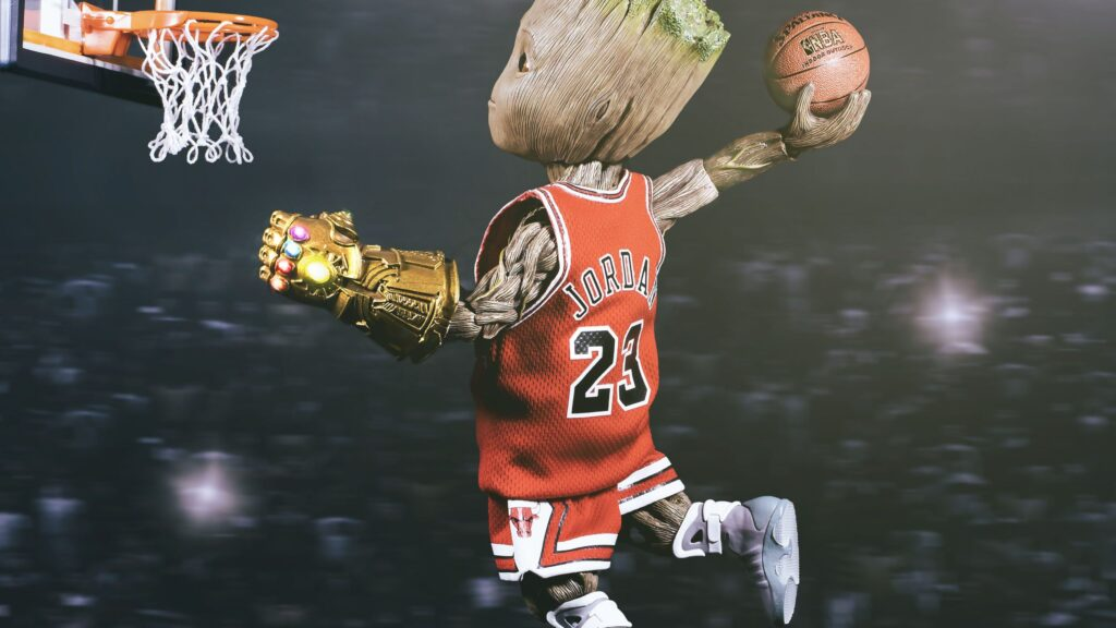 basketball in a lucid dream