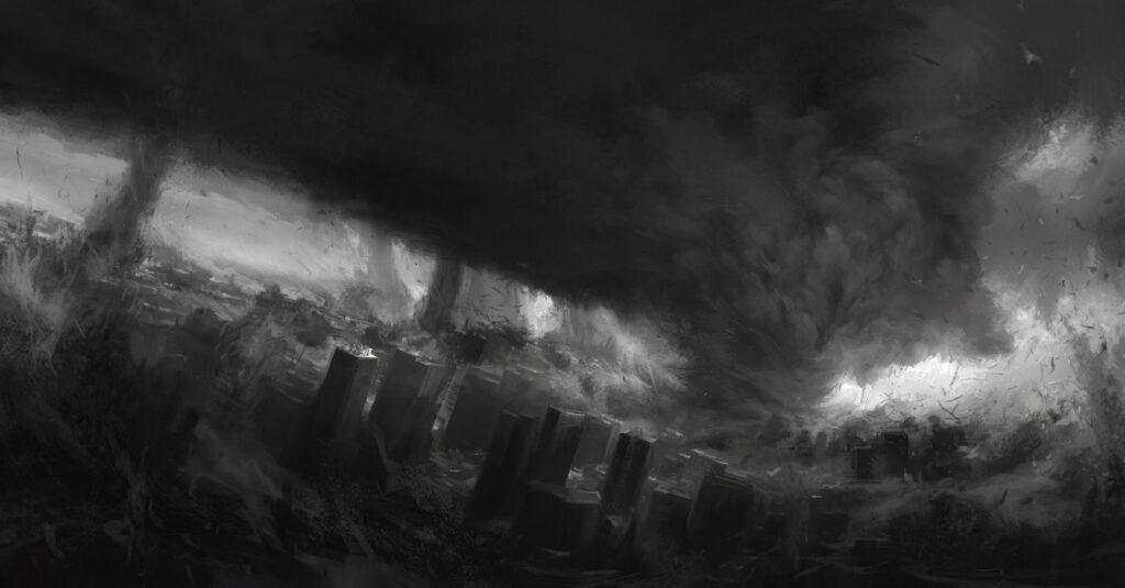 Dreaming about Dark Tornado
