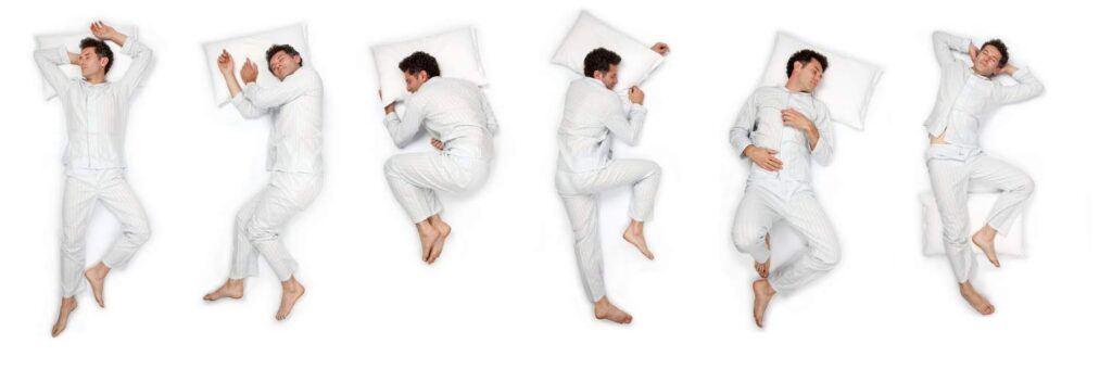 sleeping habit sleeping position