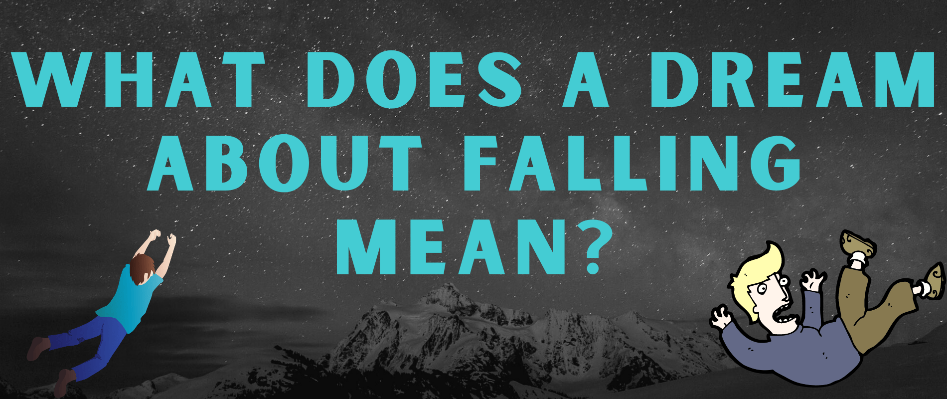 what does a dream about falling mean