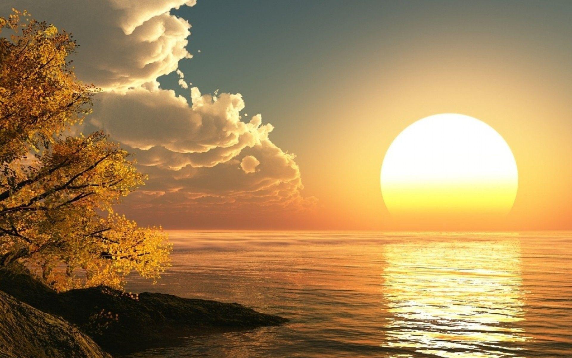 waking up early sunrise