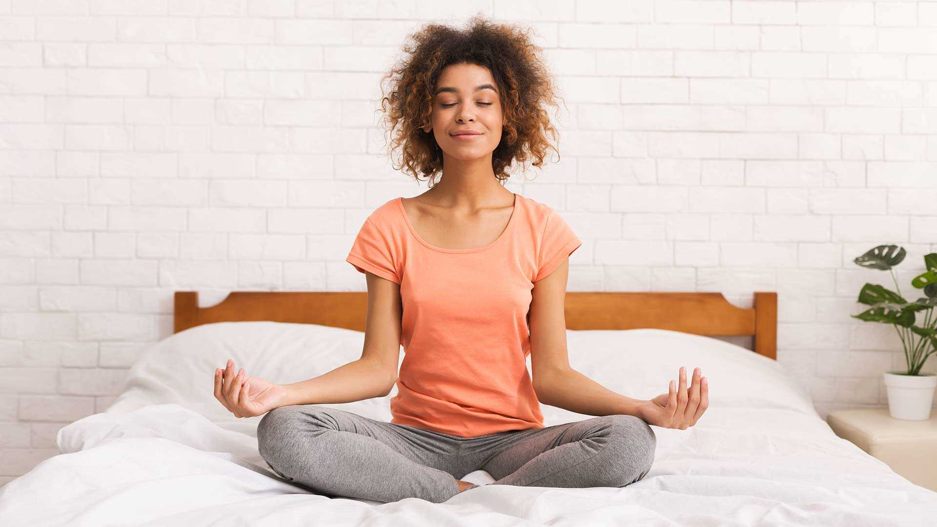 Meditation before bedtime